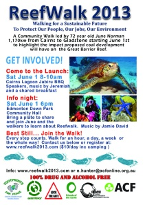 Cairns flyer, please feel free to print and distribute