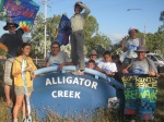 reefwalk2013: We reach Alligator Creek 30 Jule 2013