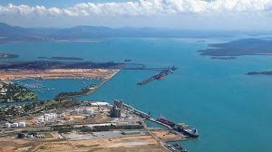 Industrial development at Gladstone Harbour