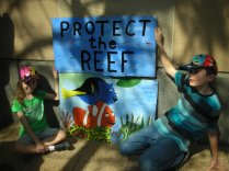 Kids and Fish Reef Rally 2013 Brisbane - viki